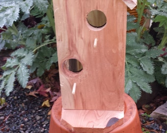 Redwood Bird Houses