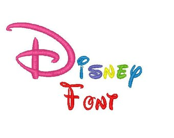 Disney Font 4 sizes 9 Formats