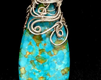 Mosaic Turquoise in Silver