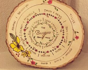 Family Tree Wood Art