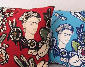 Cactus flower cushion cover