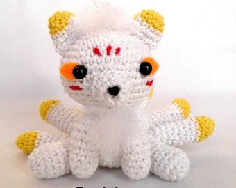 Gumiho- Nine tails fox amigurumi PATTERN. Amigurumi myth