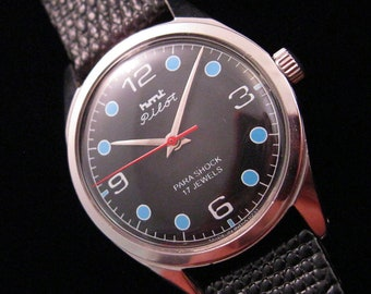 "HMT ""PILOT"" Watch - 17 Jewels & Shock Protected"