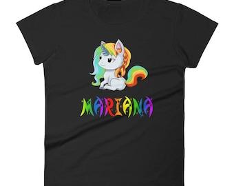 Mariana Unicorn Ladies T-Shirt