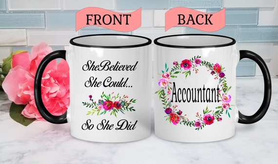 Accountant Mug Accountant Gift Accountant Coffee Cup Accounting Mug Graduation Gift for Accountant Accounting Ceramic Mug Accounting Gifts