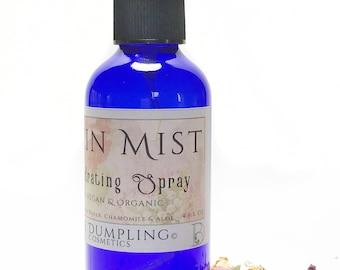Skin Mist Hydrating Spray, Organic Skin Mist, Vegan Skin Mist, Vegan Skincare, Organic Toner, Natural Skincare, Organic Hydrating Spray