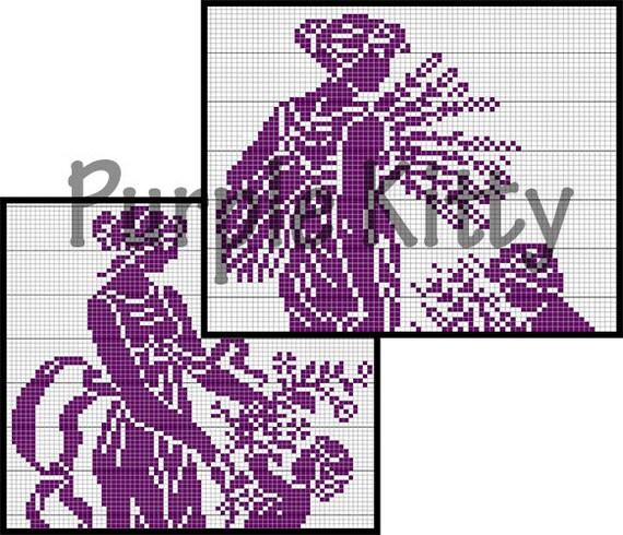 The Last Supper Filet Crochet Pattern Cc1 Coats Clark