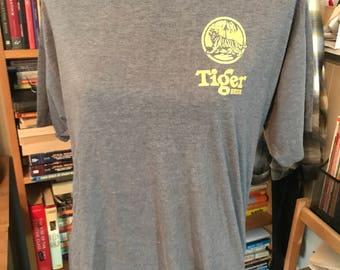 Hand Screenprinted Tiger Beer Shirt
