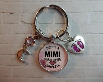Mimi Keychain, Mimi Gift Idea, Mimi Quote, Mimi Gift, Mimi Sayings, Mimi Key Chain, Gift For Mimi, Mimi Gifts, Mimi Pendant, Mimi Quote Gift