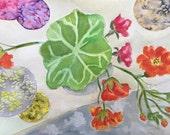Flower Art,  Colorful Cir...
