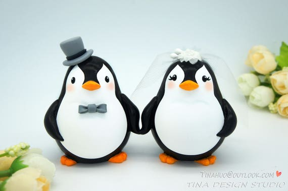 Penguin Wedding Cake ToppersLove Bird Wedding Cake