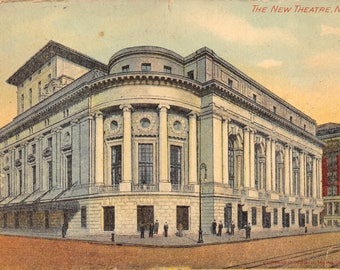 Vintage Postcard The New Theatre New York City Postmarked 1912