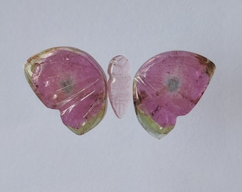 Tourmaline Carved Butterfly