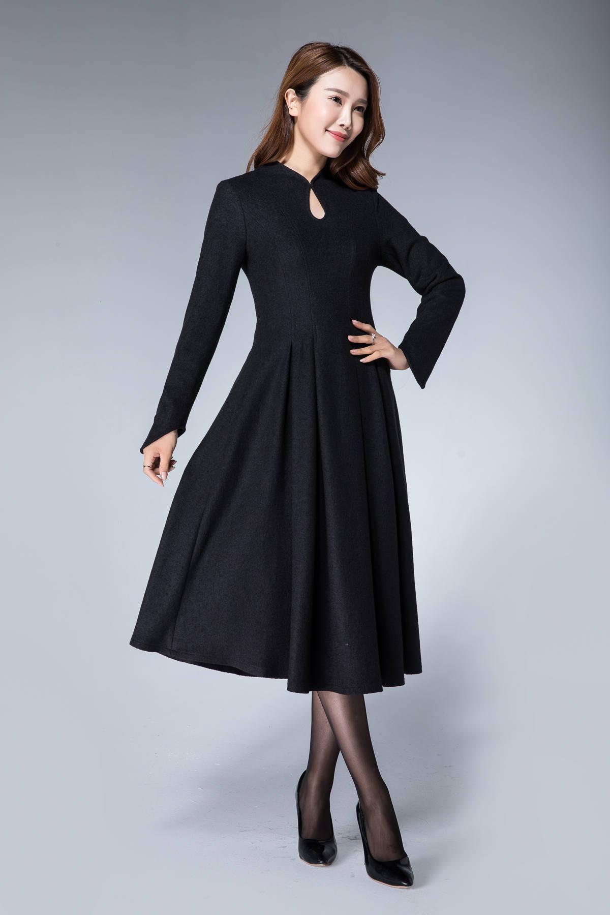 Black Winter Dress   Good Dresses