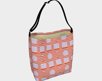 Chroma Op Shapes Day Tote