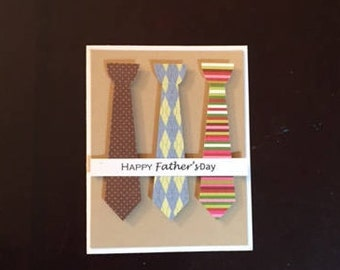 happy father's day homemade card; homemade happy father's day card; blank card; happy father's day card