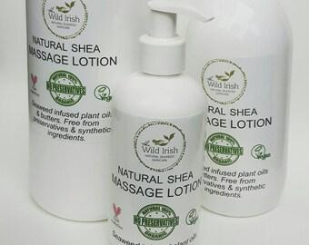 MASSAGE LOTION Vegan. Sports/Relax/Detox/Reflexology. Organic/Natural. Preservative Free