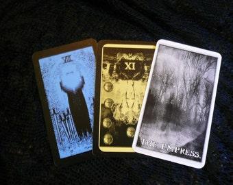 Lady Aquamarine: 5-Card Tarot Reading-Unextraordinary Tarot Deck