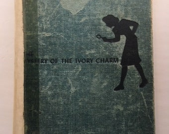 The Mystery of the Ivory Charm, Nancy Drew Mysteries, by Carolyn Keene, 1936, Hard Cover