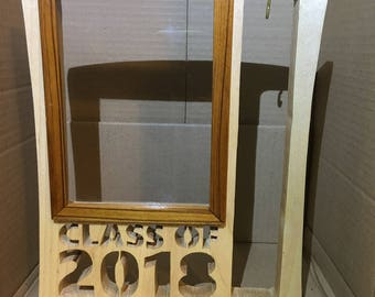Local Pickup CLASS OF Picture frame with Tassel hanger