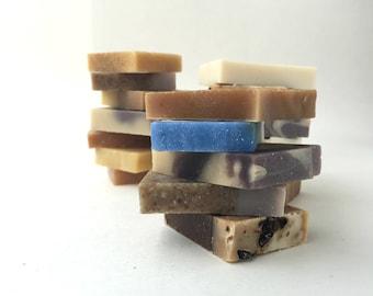 Natural Soap Set Samples 18 bars / Mothers Day, Sale Soap, Small Soaps, Guest Soap, Mini Soap, Handmade Soap, Gift Soap Set, Bulk, Homemade