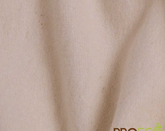 Ready-AbZORB™ ProECO® Organic Cotton Fleece Fabric (Natural, sold by the yard)
