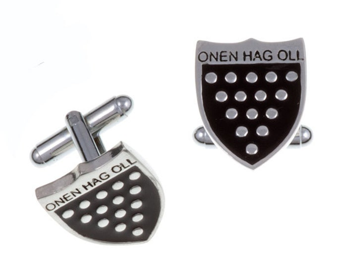 One & all T-bar cufflinks- Hand Made and Design in UK
