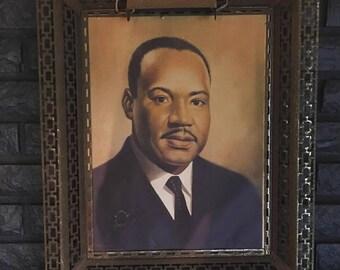 Martin Luther King Portrait, MLK Portrait
