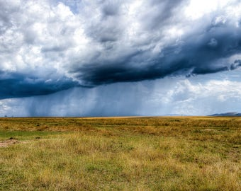 Rains in Africa, Landscape photography