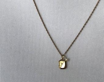 Tiny Gold Filled Locket ~ Vintage Locket ~ Small Locket ~ NBJ3339