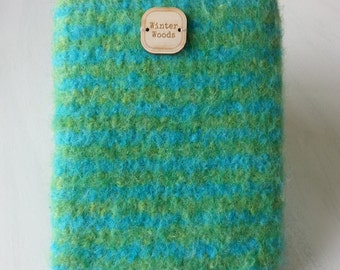 Felted wool E-book cozy