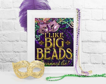 Mardi Gras Party Decoration, Mardi Gras Party Decor, Mardi Gras, Mardi Gras Parade, Party Decorations, Masquerade Party, Mardi Gras Beads