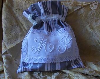 Old Monogram lingerie bag