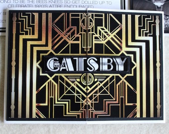 The Great Gatsby Theme Invitations (15 count)