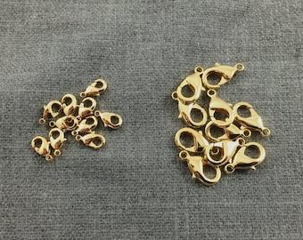 GOLD FILLED CLASPS 5*10mm/7*12mm / 8*14mm... 14K / 18K Gold Filled LoBSTER CLaSPS.