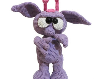 Handmade Amigurumi Cute Alien