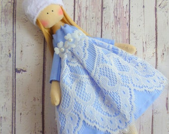 ballerina Doll,Textile doll, decorative doll,collectible dolls , doll cotton, rag doll, Fabric doll, Tilda doll, Home Decoration, Art doll