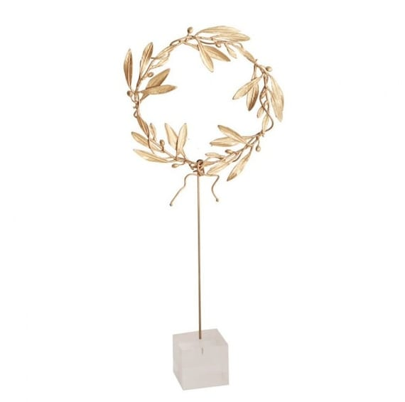 art grec du wreath quality bronze rameau dolivier  grec art