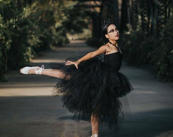 Black Swan WOMEN'S Hi/Low Tutu Costume