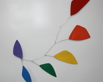 Tribute Hanging Mobile - Rainbow Shapes