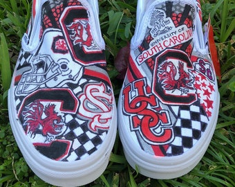 University of South Carolina Custom Vans