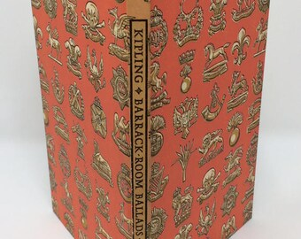 Rudyard Kipling Barrack-Room Ballads and Departmental Ditties Hardcover Book with Slipcase