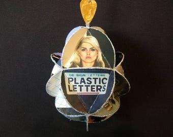 Blondie Album Cover Ornament Made Of Repurposed Record Jackets - Deborah Harry