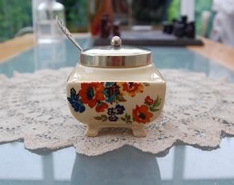 Lancaster ltd Hanley 1920's Jam Preserve pot