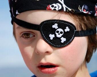 Pirate Bandana and Eye patch set/ Kids Pirate set