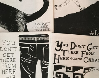 back issues of You Don't Get There From Here!