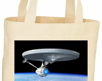 Star Trek Starship Enterprise Tote bag