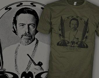 Alan Watts T-Shirt - Alan Watt Buddhist Philosopher Shirt - The Way of Zen Buddhism Shirt