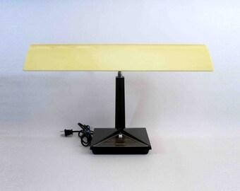 Vintage Florescent Gooseneck Desk Lamp by Panasonic. Circa 1970's.
