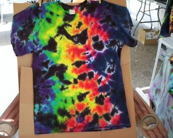 Galaxy Tie Dye Shirt Size Large